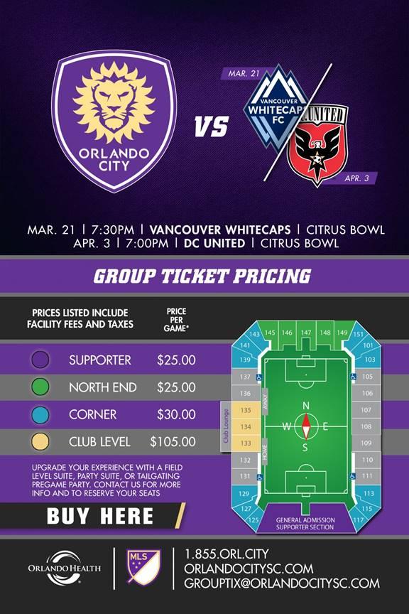 FSSA Orlando City Discount
